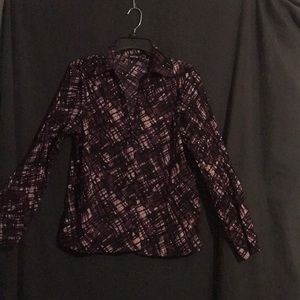 Apt 9 button up blouse